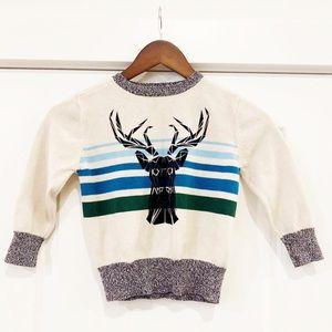 Toddler Moose Sweater